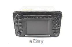 01-04 Mercedes W203 C32 C240 CLK55 AMG Comand Navigation Radio CD Display Screen