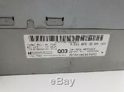 03-08 Mercedes W211 E350 E500 E550 COMAND Stereo Navigation Radio CD OEM