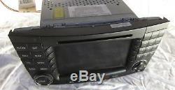 03-08 Mercedes W211 E550 E500 Command Comand Unit Navigation Radio CD SAT OEM