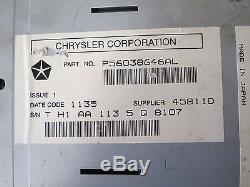 04-09 Chrysler 300 Magnum Aspen Commander Dakota GPS Radio Screen OEM 56038646AL