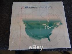08-14 STI WRX FORESTER Subaru Radio Navigation GPS 86271SC111 FXDB09KF2 Map Disk