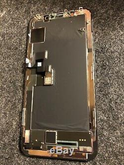100% Original OEM 8/10 Original Apple iPhone X OLED Screen Replacement Black LCD