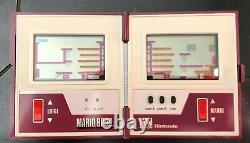 1983 Nintendo Game and Watch Mario Bros Multi Screen Handheld ORIGINAL BOX WORKS
