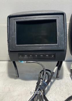 2007 2012 Mercedes GL450 ML450 DVD Player Video Splitter WithSCREENS OEM