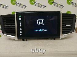 2016 2017 Honda Pilot OE Touch Screen Multimedia AM FM Radio Receiver