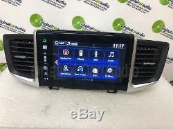 2016 2017 Honda Pilot OEM Touch Screen Navigation Multimedia Radio Receiver