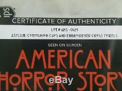 AHS American Horror Story Asylum Props With COA Screen Used