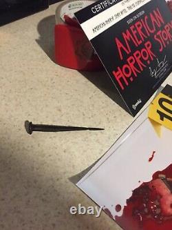 American Horror Story Screen Used Crime Scene Tongue TV Prop Hotel Cortez +COA