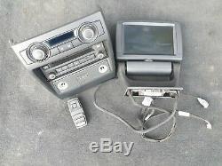 BMW X5 E70 X6 E71 OEM ORIGINAL VIDEO DVD PLAYER SCREEN rear remote 65129183209