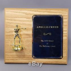 CREED 2 Apollo Creed Screen Used Boxing Award from Trophy Room Movie Prop
