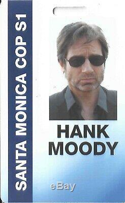 Californication Hank Moody David Duchovny Screen Used ID Wallet Watch COA RARE