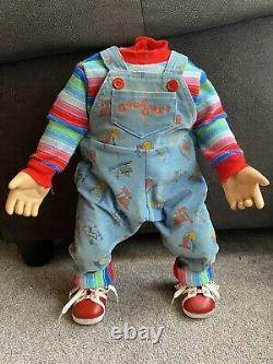 Childs play 2 Screen Used Movie Prop Wardrobe Good Guy Chucky Doll Original