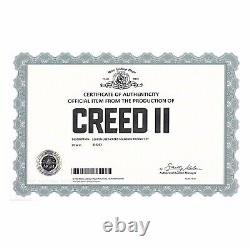 Creed Screen Used Matched Apollo Creed Trophy Prop Rocky Sylvester Stallone