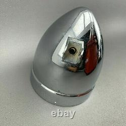 Custom Oldschool Harley-Davidson bullet Scheinwerfergehäuse 5,75 Zoll Chrom