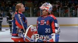 D2 The Mighty Ducks 1994 Goldberg Goalie Helmet Screen Used Movie Prop Disney