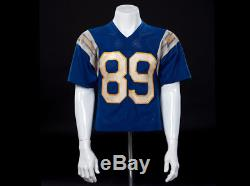 Daniel (Ralph Macchio) screen used hero Chargers Jersey from THE KARATE KID