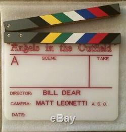 Disney Angels in the Outfield Clapperboard Anaheim Used Screen Game 1994 clapper