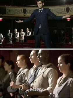 Doctor Who original screen used stunt prop Dalek Tommy Gun Dr. Who Torchwood TV