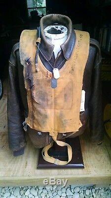 Doolittle Raid PEARL HARBOR Original Film Prop Screen Used MaeWest WW2 Life Vest