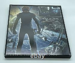 Enders Game Hero Light Up Flash Gun Screen Used Prop With COA And Display