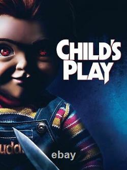 Extremely Rare! Child's Play Chucky Screen Used Original Drone Blade Movie Prop