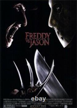 Extremely Rare! Freddy vs Jason Piece of Freddy's Sweater Screen Used Movie Prop