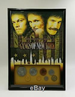 Extremely Rare! Gangs of New York Original Screen Used Coin Set Movie Prop