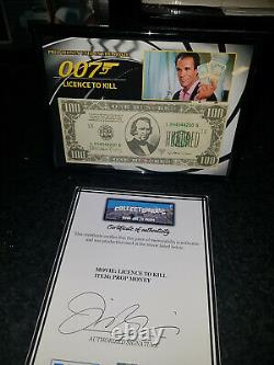Extremely Rare! James Bond 007 Licence To Kill Original Screen Used Movie Prop