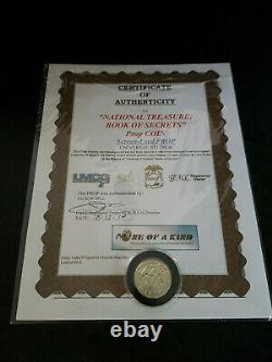 Extremely Rare! National Treasure 2 Book of Secrets Screen Used Treasure Coin