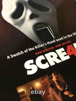 Extremely Rare! Scream 4 Original Piece of Screen Used Killer Hood Movie Prop