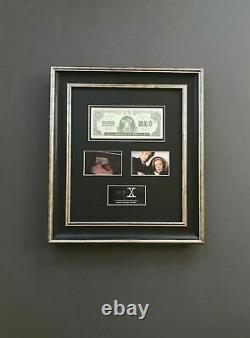 Extremely Rare! The X Files S03 Hell Money Note Original Screen Used Prop Framed