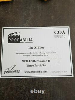Extremely Rare! The X Files Season 11 Original Screen Used Patches Movie Props
