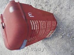 Farmall M IH Tractor ORIGINAL Nose cone grill with screen & emblem