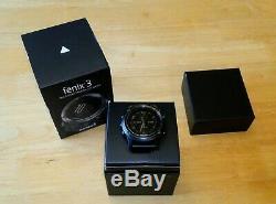 Garmin Fenix 3 GPS Watch / fenix3 Includes Charger Screen Protector Original Box