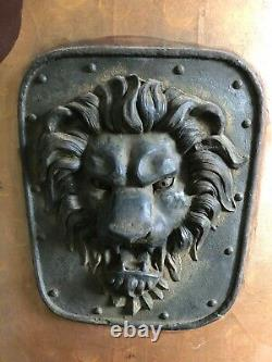 HERCULES Screen Used LION TOWER SHIELD 2014 Dwayne Johnson Local Pick Up Only