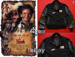 HOOK (1991) Dustin Hoffman Movie Crew Screen Worn Used Peter Pan Prop Jacket L