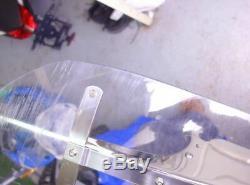 Harley Softail Heritage Windschild Halter Verkleidungsscheibe wind screen 2009