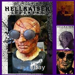Hellraiser Judgment screen used Auditor mask Pinhead Lament box Clive Barker