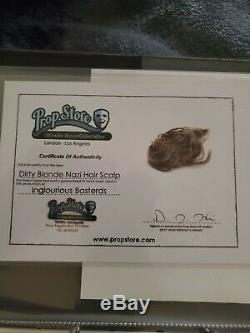 Inglourious Basterds screen used Nazi Scalp with Prop Store COA
