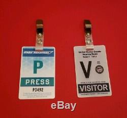 Iron Man 1 & Iron Man 2 Badges Production & Screen Used Props. LAST ONES
