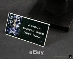 Jason X Uber Jason's Screen Used Hero Right Armored Hand withCOA/acrylic display