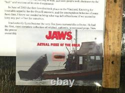 Jaws Movie Prop Orca Boat Piece Screen Used horror movie prop