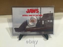 Jaws Movie Prop Orca boat piece screen used funko pop super7 reaction