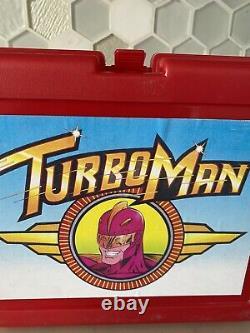 Jingle All The Way Turboman Lunchbox Screen Used Prop