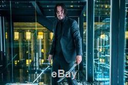 John Wick 3 Screen Used Stunt Sword From Glass House Scene
