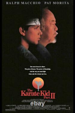 Karate Kid Ralph Macchio screen used hero kimono movie costume. Cobra Kai