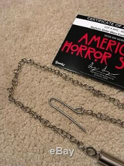 Lily Rabes screen used whistle prop from American Horror Story Asylum COA RARE