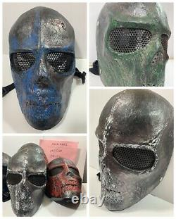 MARAUDERS (2016) MOVIE PROPS, Screen Used MASKS with Production Binders RARE