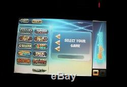 Merit RX Megatouch touch screen counter top game with 2012 game content