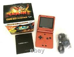 Nintendo Game Boy Advance SP (with screen model AGS 101) Original Box working